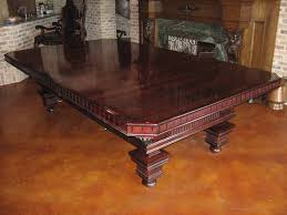 Dining Pool Table Combo by Pleasurable Pool Table Dining Conversion Top All Dining Room