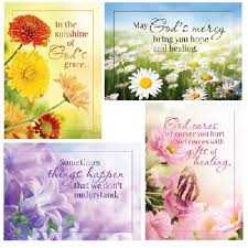 get well christian cards wishes kjv scripture g2034 boxed