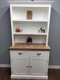 kitchen welsh dresser farmhouse shabby chic display unit oak pine
