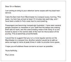 ielts general training complaint letter ielts simon com
