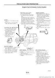 nissan pathfinder egr valve nissan patrol 1998 y61 5 g engine control workshop manual