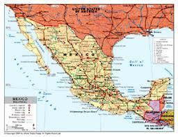 political map of mexico political map of mexico by bestcountryreports com