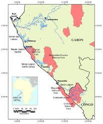 Gabon Map In Search Of U0027mamiwata U0027 September 2006