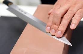 where to get kitchen knives sharpened tips on sharpening a knife tomy s news inc