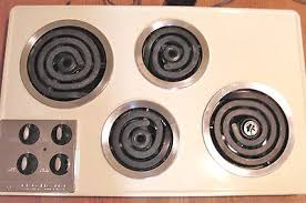 Ebay Cooktop Vintage Retro Frigidaire Surface Stove Top Cooktop Butter Rbw101