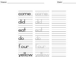 free worksheets preschool name tracing worksheets free math