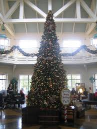 photo tour of the christmas decorations at disney s port orleans lobby tree