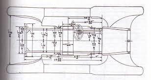 A Frame Blueprints Model T Ford Forum Speedster Racer Roadster Body Plans