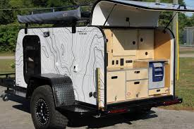jeep camping mods patriot campers x1 demo bugout trailer carts pinterest