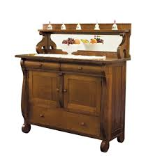 Kitchen Cabinet Wood Choices Amish Dining Room Sideboards Buffet Storage Cabinet Wood Antique