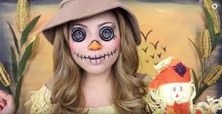 scary scarecrow halloween costume 25 creative halloween makeup ideas