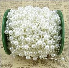ivory pearl saitec 200 roll ivory pearl string party