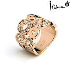 aliexpress buy brand tracyswing rings for women real italina rigant austrian crystals 18k gold plated rings for
