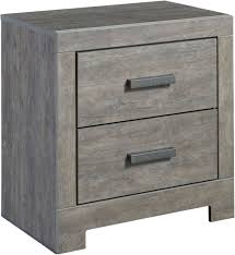 Ashley Porter Nightstand Culverbach Gray 2 Drawer Nightstand From Ashley Coleman Furniture