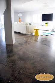 concrete floors in the basement great idea basement small