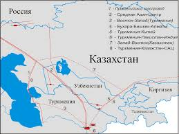 South West Asia Map Quiz by Central Asia U2013center Gas Pipeline System Wikipedia