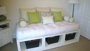 bed white daybed bewitch white pull out daybed u201a brilliant white