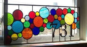 antique stained glass transom window hand crafted stained glass window panel bright and bubbly