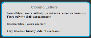 free letter format examples and samples