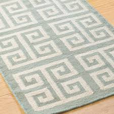 Light Gray Shades by Greek Key Dhurrie Rug Shades Of Light