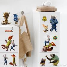 the zootopia wall decal crazy animals city wall art diy decorative the zootopia wall decal crazy animals city wall art diy decorative wall sticker for kids room car trunk decor affordable wall decals airplane wall decals