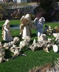 outdoor nativity how to create a beautiful outdoor nativity hometalk