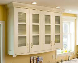 Kitchen Cabinet Doors With Glass Kitchen Kitchen Cabinets Traditional White Transitional Glass