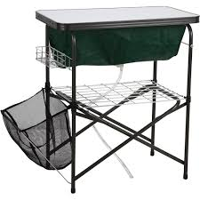 Oztrail Camp Kitchen Deluxe With Sink - ozark trail deluxe camp kitchen and sink table walmart com