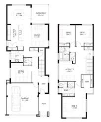two floor plans 4 bedroom house floor plans 3dhouse plans exles house plans