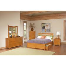 contemporary natural maple bedroom furniture