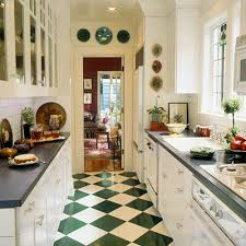 galley kitchens ideas small galley kitchen remodel with diagonal ceramic floor with