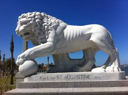 statue lions file bridge of lions statue profile jpg wikimedia commons