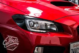 subaru sti 2016 red subaru endless autosalon