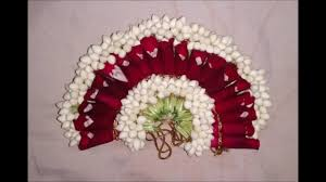 bridal flowers for hair beautiful floral hair decoration poolajada veni gajra traditional