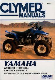 yamaha warrior 350 repair manual 28 images yamaha yfm350x