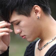 earring men cool accessories earring clip earring no pierced hip hop
