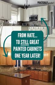 from to still great painted cabinets one year later