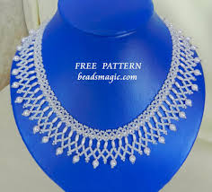 necklace link patterns images Beads magic patterns free pattern for necklace nadine click on