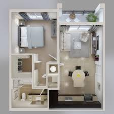 Best Apartment Floor Plans Studio Apartment Floor Plans Enchanting One Bedroom Apartment
