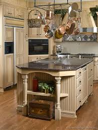 Repainted Antique White Kitchen Cabinets  Kitchens - Country cabinets for kitchen