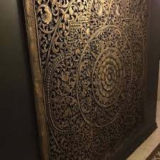 wood carving wall for sale find more 6 panel carved mandala imported from india