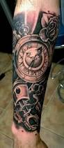 clock sleeve tattoo tattoo collections