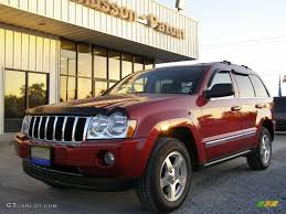 2005 inferno red crystal pearl jeep grand cherokee limited