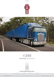 kenworth bayswater kenworth k200 vehicle specifications
