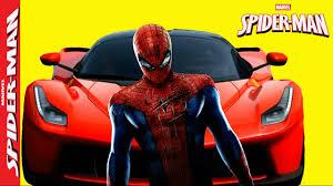 cara buat car xshot spiderman cars road racing in real life mountain adventure of