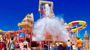 wisconsin dells mt olympus waterpark and rides youtube