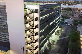 boyer parking garage kovach building enclosures boyer parking garage