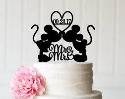 mickey minnie cake topper disney wedding cake topper etsy