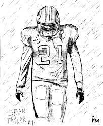 sean taylor gone but not forgotten by frostmindz on deviantart