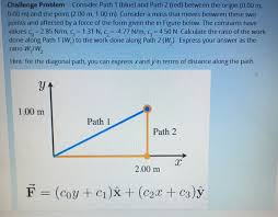 Challenge Origin Solved Challenge Problem Consider Path 1 Blue And Path
